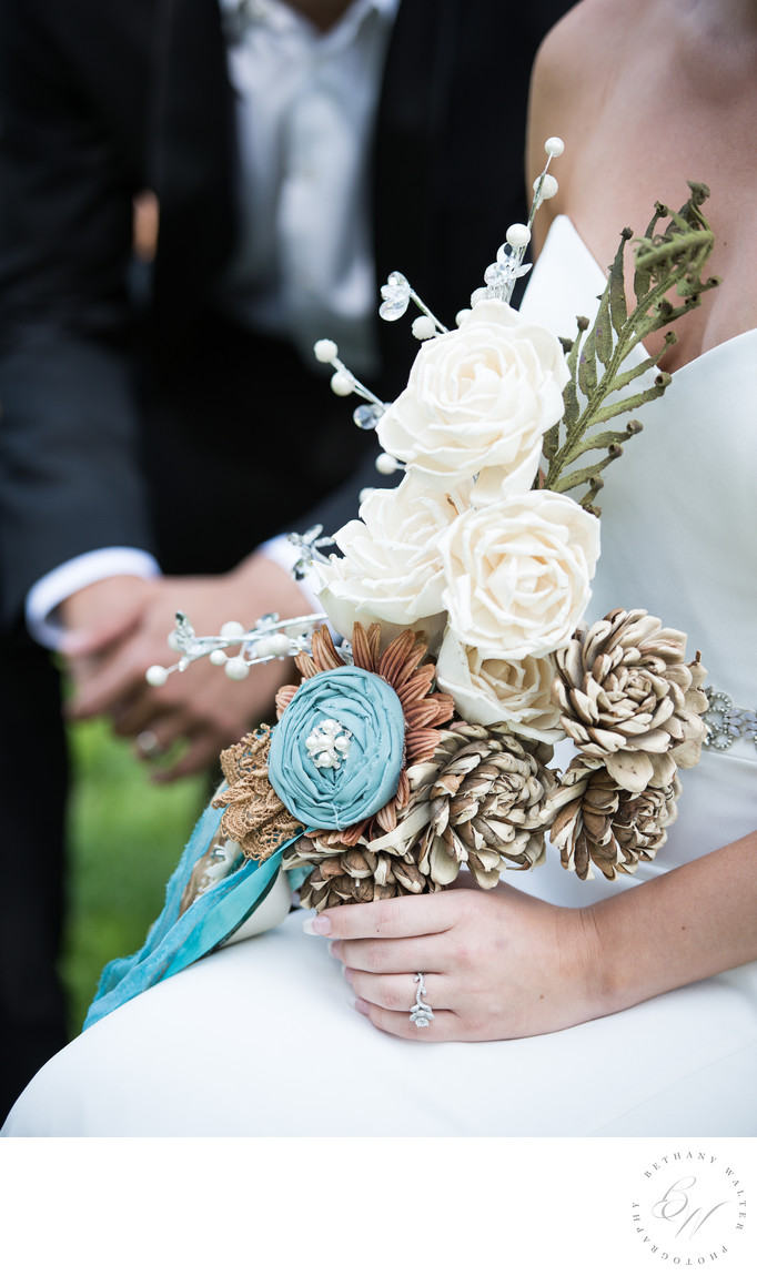 St Augustine Wedding Photographer Bridal Bouquet