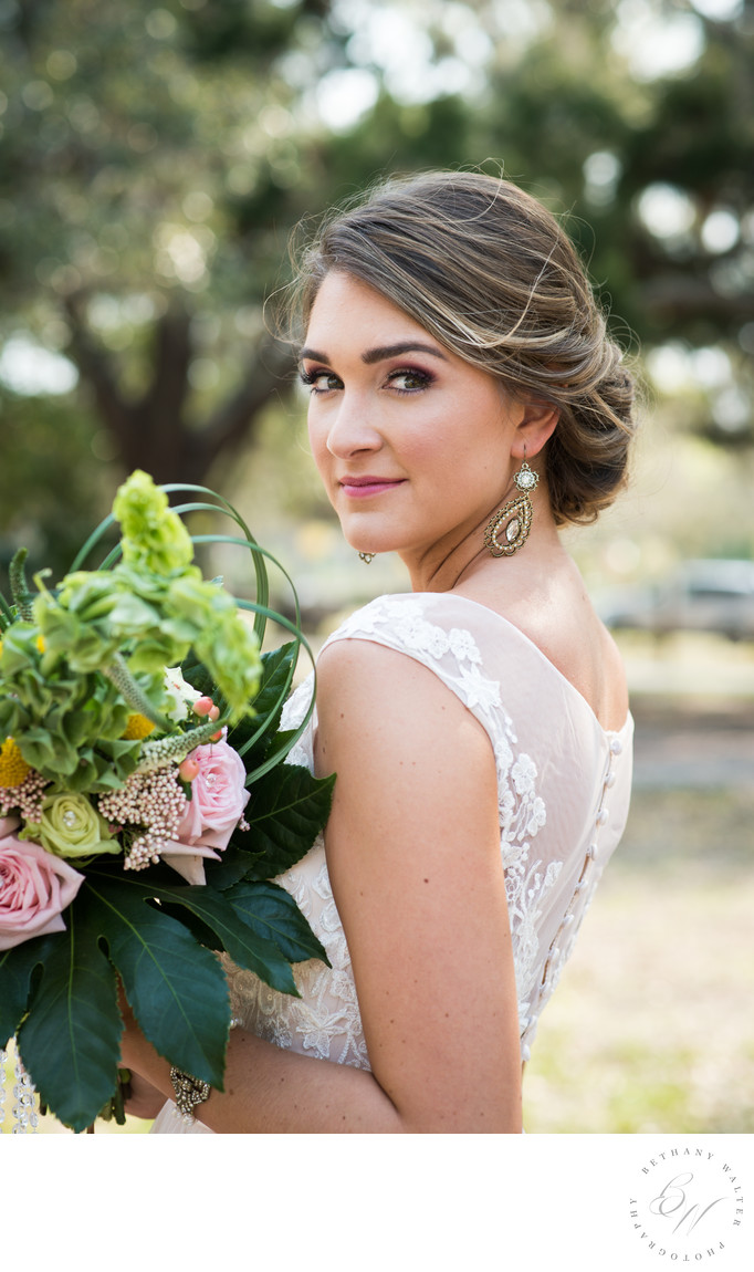 St Augustine Wedding Photographer Bride Fountain of Youth