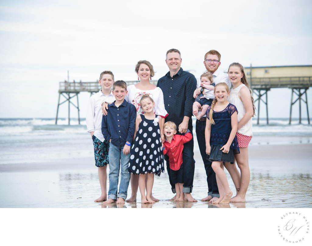 Daytona Beach Family Session