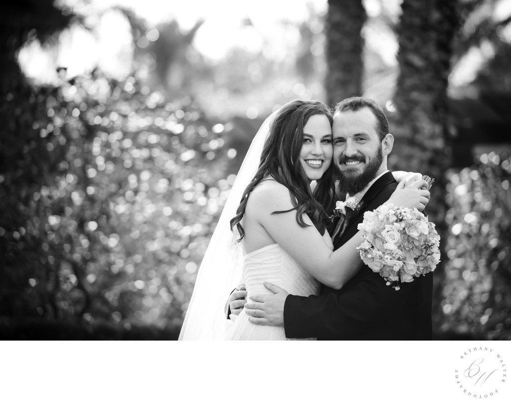 Bride and Groom at Nocatee Crosswater Hall