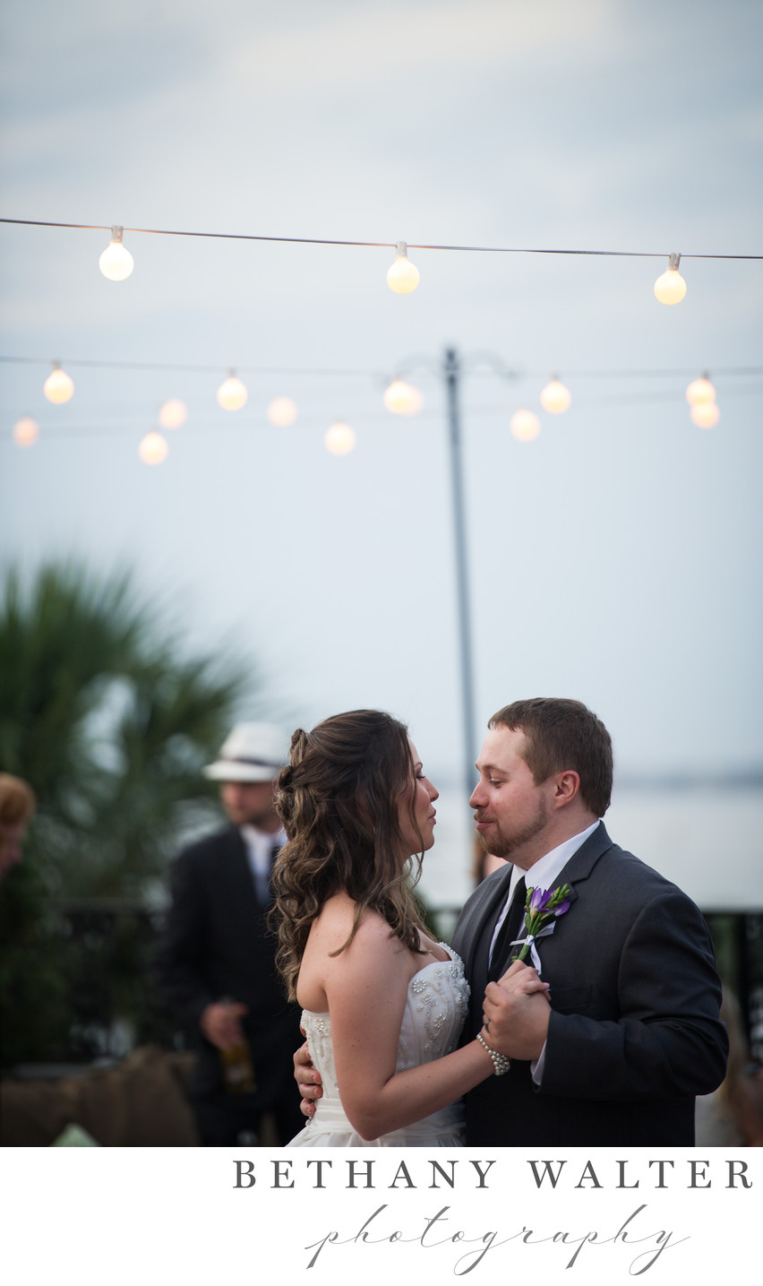 St Augustine Wedding Photographer White Room Roof Top