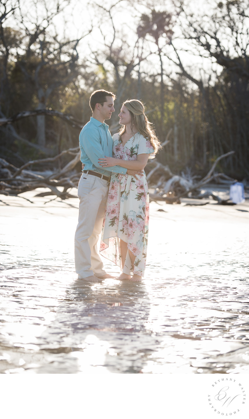 St Augustine Engagement Photographer at Big Talbot