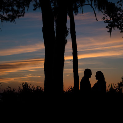 St Augustine Engagement Session on St Johns River