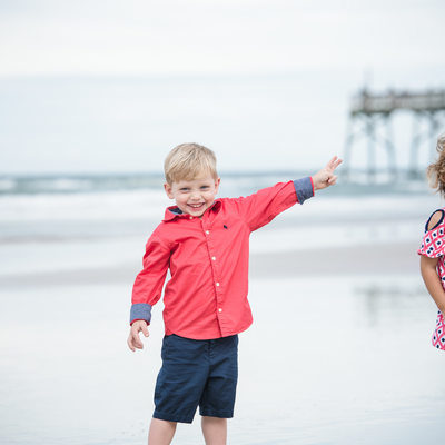 Daytona Beach Family Session at the Pier