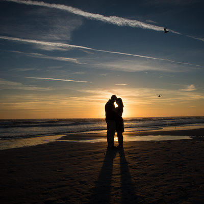 Sunrise Proposal Session on St Augustine Beach