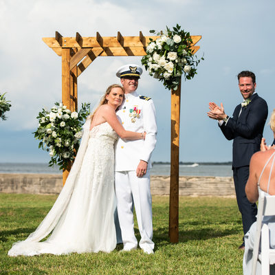 Military Wedding Ceremony at the Fort in St Augustine