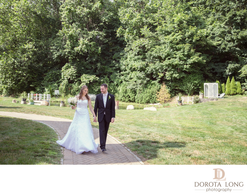 Wedding photographer CT and Westchester NY Villa Bianca