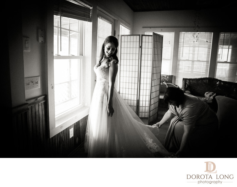 Bride Getting Ready Wedding photography in Stamford CT