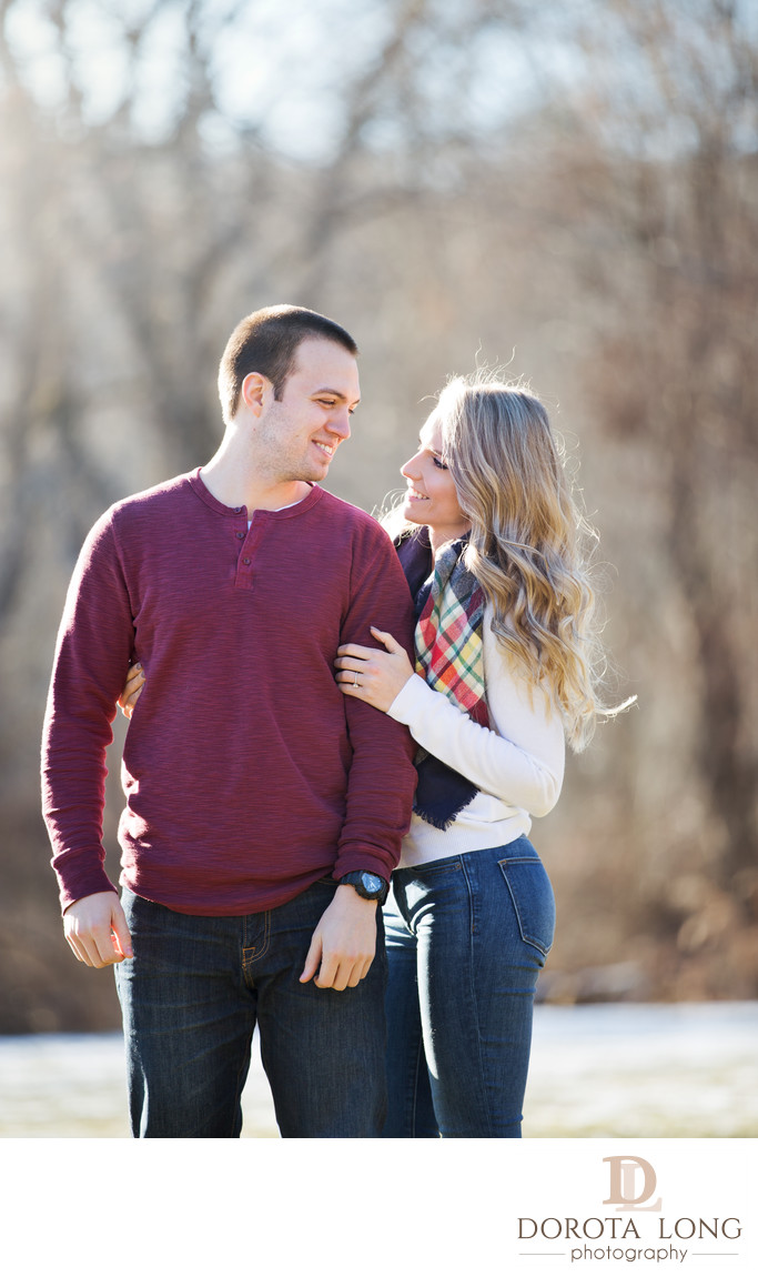 Engagement photographer in Danbury wedding