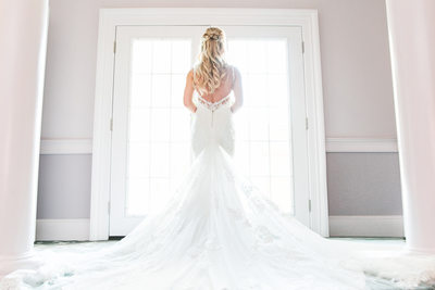 Wedding in Villa Venezia in Middletown, NY Bridal gown