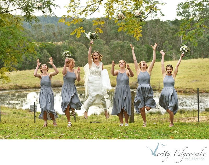 Fun Wedding Photographer Adelaide Hills