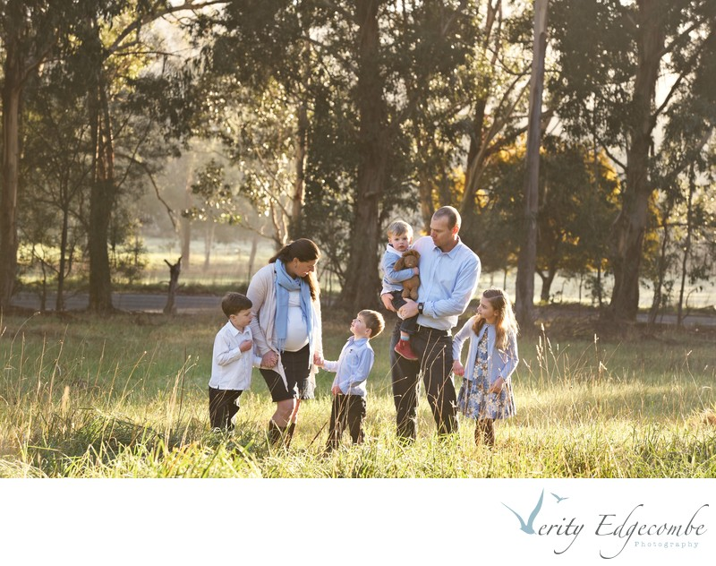 Maternity Family Photos in Adelaide Hills