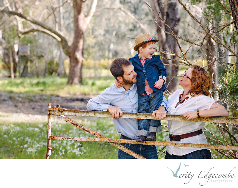 Natural Family Photo Sessions in Adelaide Hills