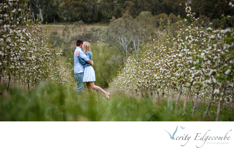 Engagement Photos In The Adelaide Hills Countryside