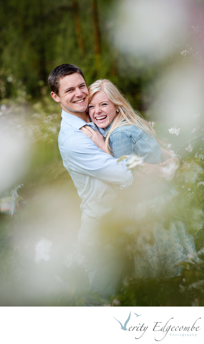 Engagement Photos in the Adelaide Hills Orchards