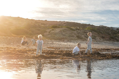 Family Photos at the Beach in Adelaide