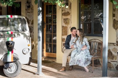 Engagement Photoshoot in Hahndorf