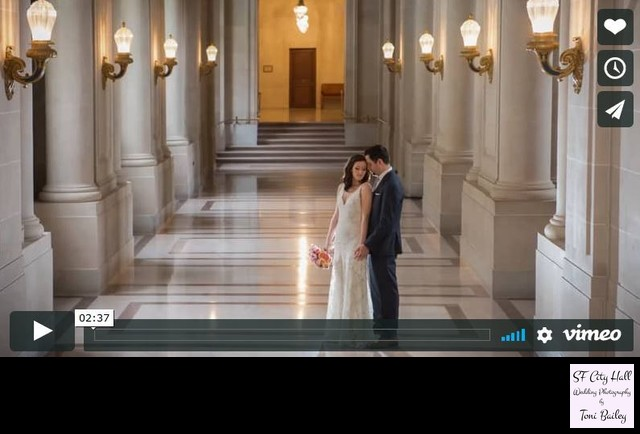 San Francisco City Hall Wedding Video