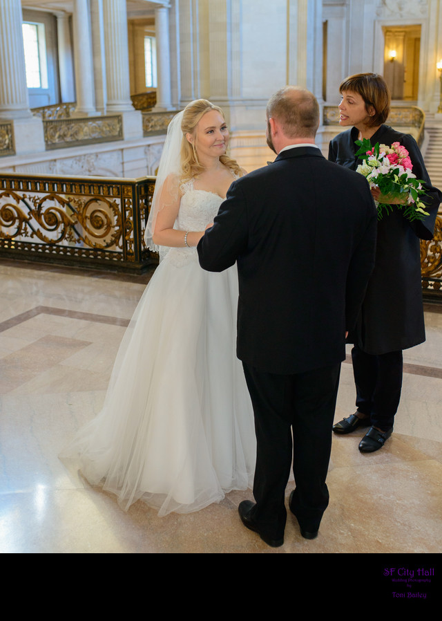 vows at City Hall