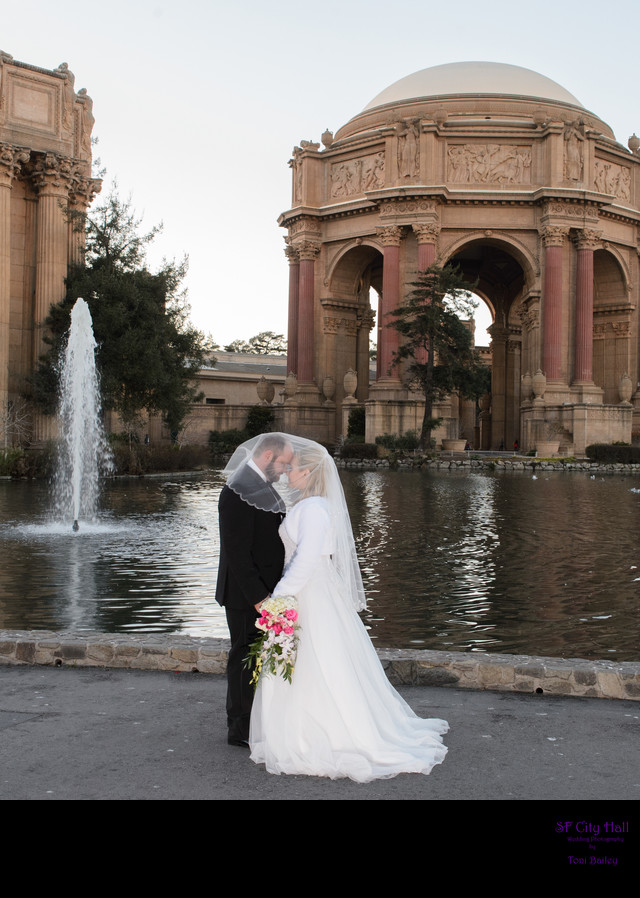 palace of fine arts fountain