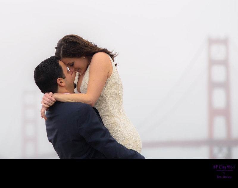 San Francisco City Hall wedding photographer - Golden Gate Love