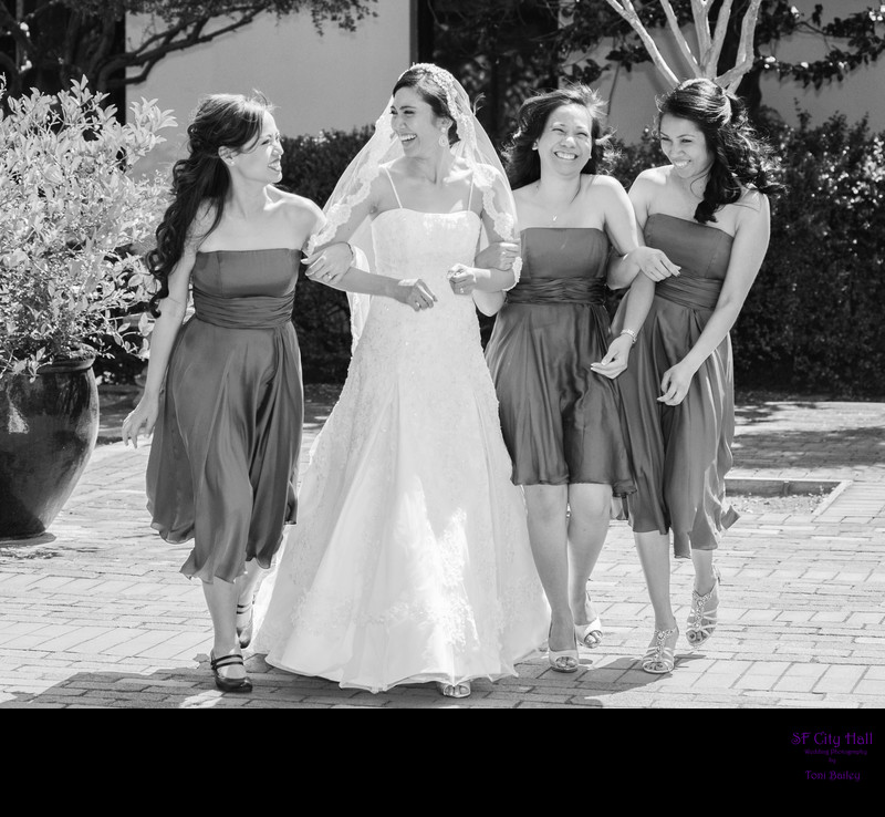 st marys bridal party