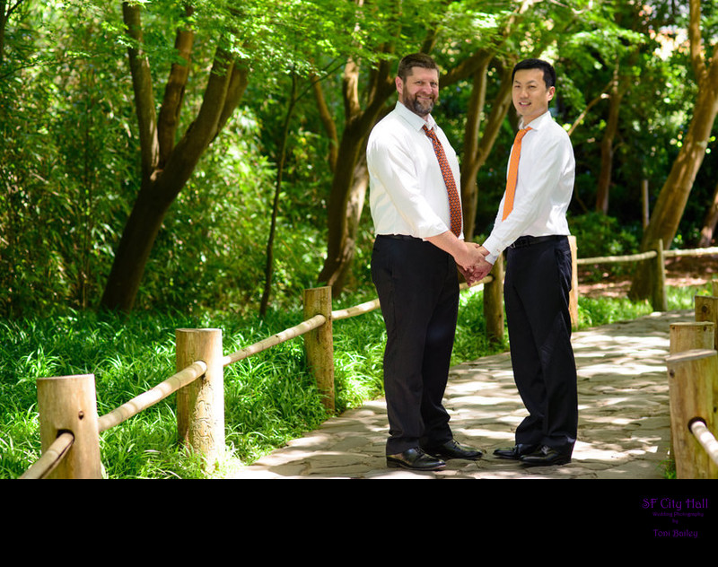 japanese tea gardens same sex marriage