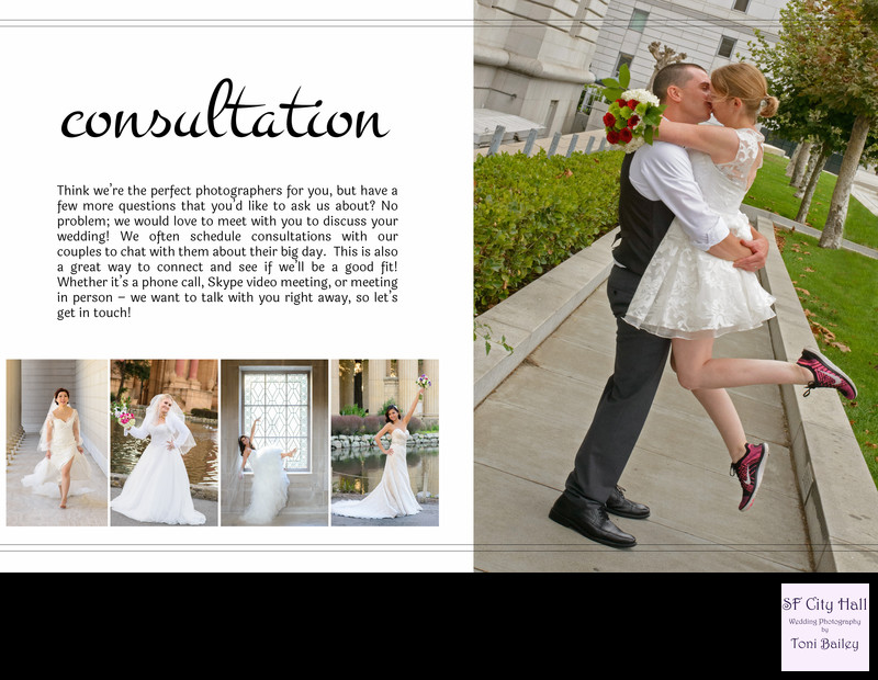 wedding guide consultation