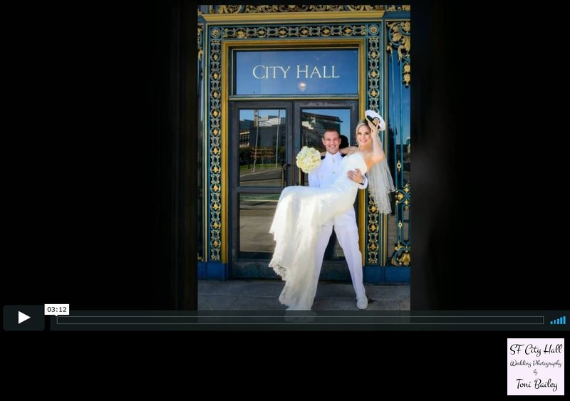 San Francisco City Hall Wedding Gallery Slideshow