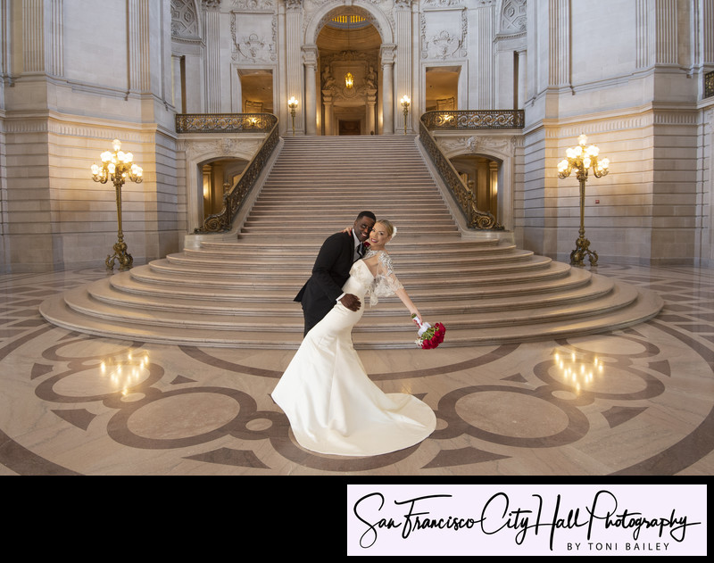 San Francisco City Hall grand staircase top photographer