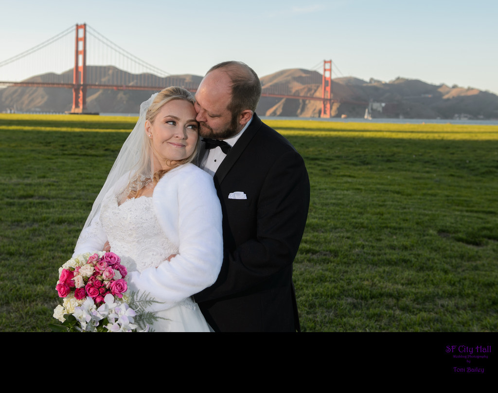 golden gate wedding