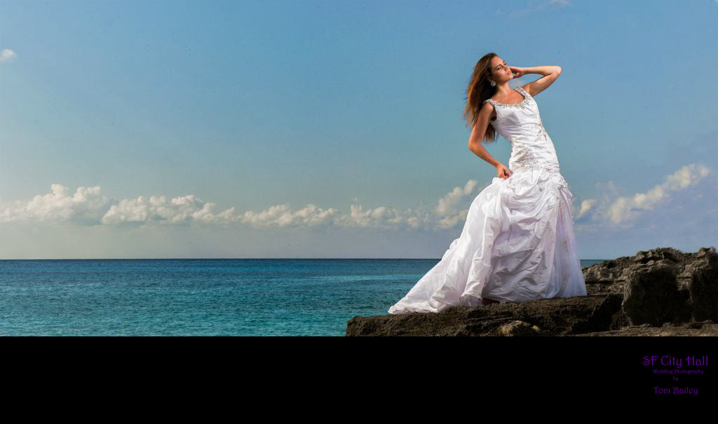 cozumel wedding dress