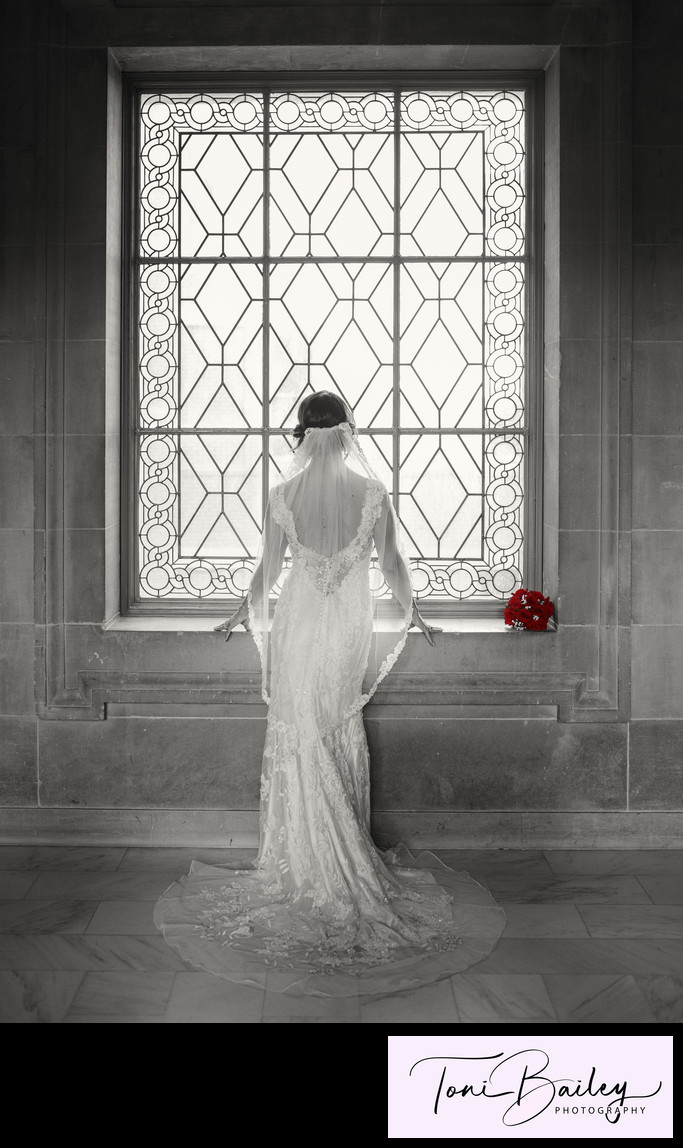 wedding dress back in black and white