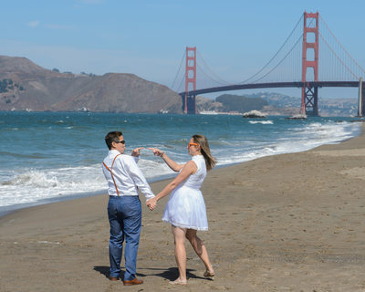 san francisco city hall beach wedding