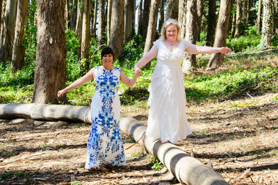 san francisco woodline same sex wedding