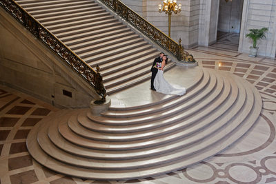 grand staircase photo from above