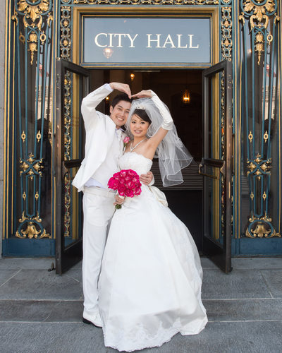 San Francisco City Hall Asian Weddings