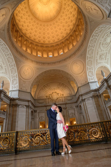San Francisco City Hall Wedding Photographers - The Dome