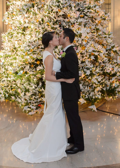 Christmas Wedding in San Francisco