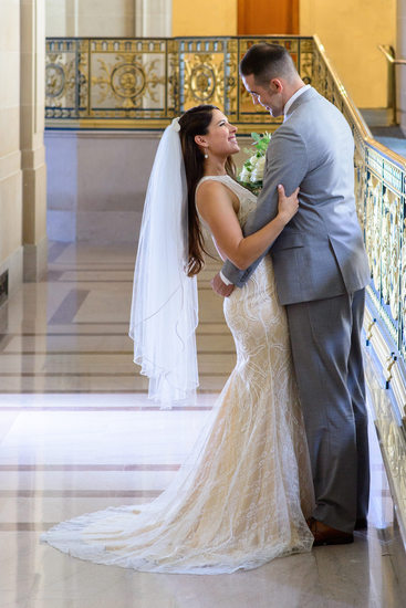 San Francisco City Hall best Wedding Photographer