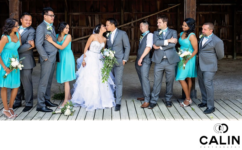 Bridal Party at Country Heritage Park Wedding