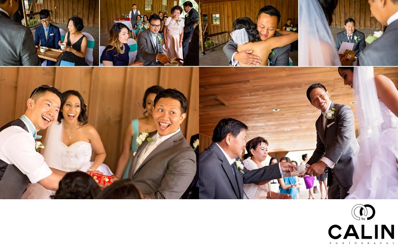 Tea Ceremony at Country Heritage Park Wedding