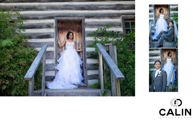 Wedding Day Portraits at Country Heritage Park