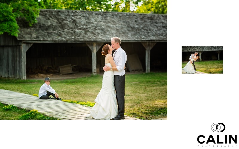 Sunset Photos at Black Creek Pioneer Village wedding