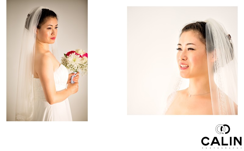 Portraits of the Bride at Atlantis Pavilions Wedding