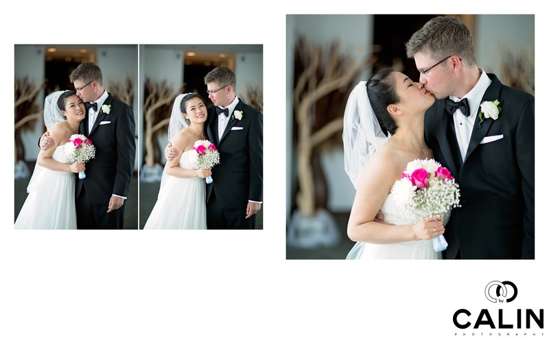 Sequence of Bride and Groom Portraits