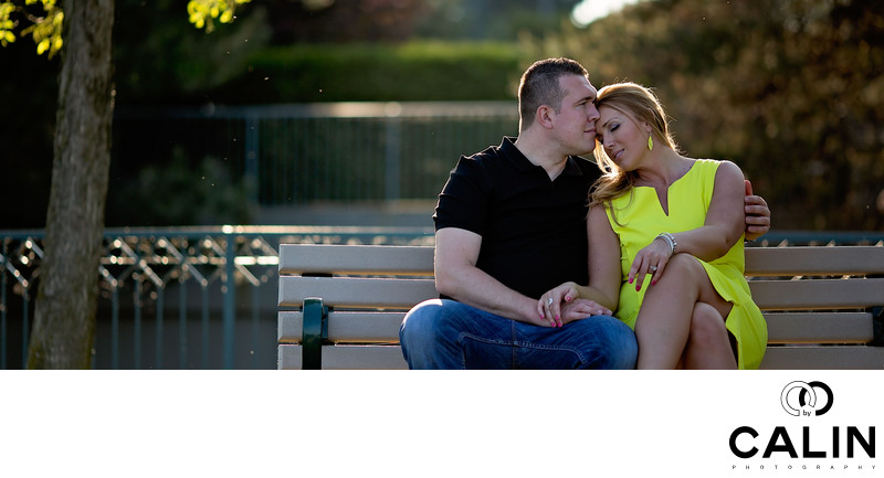 Engagement Photo in Humber Bay Shores Park