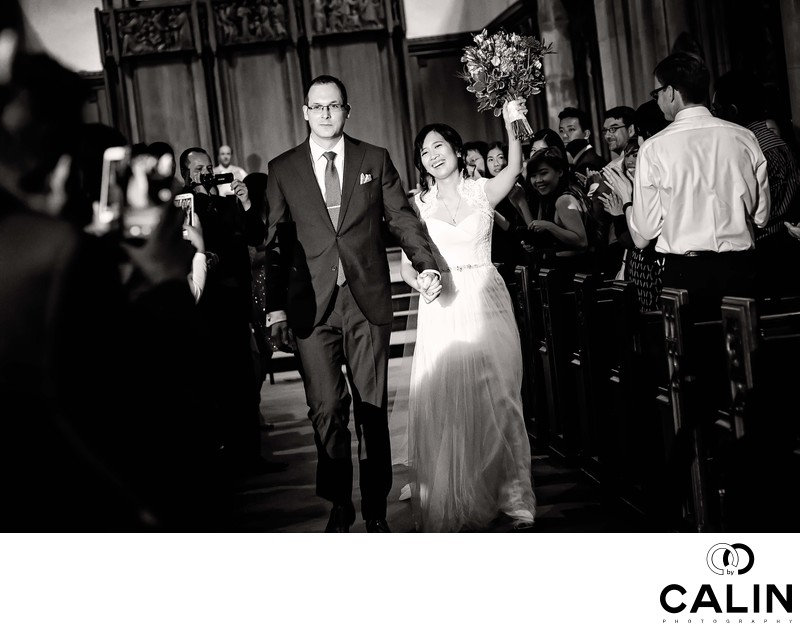 Holy Rosary Church Wedding Photographer