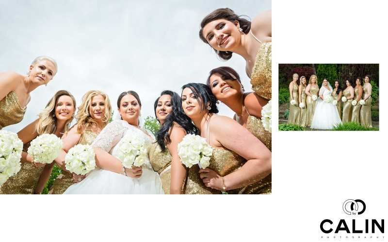 Bride and Bridesmaids' Portraits