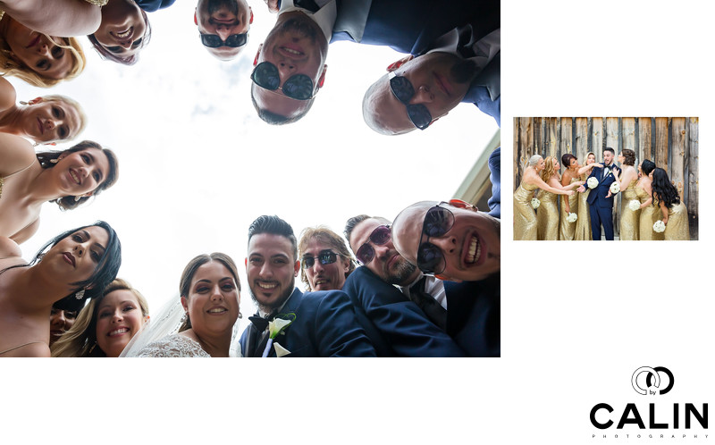Fun Portraits of the Bridal Party